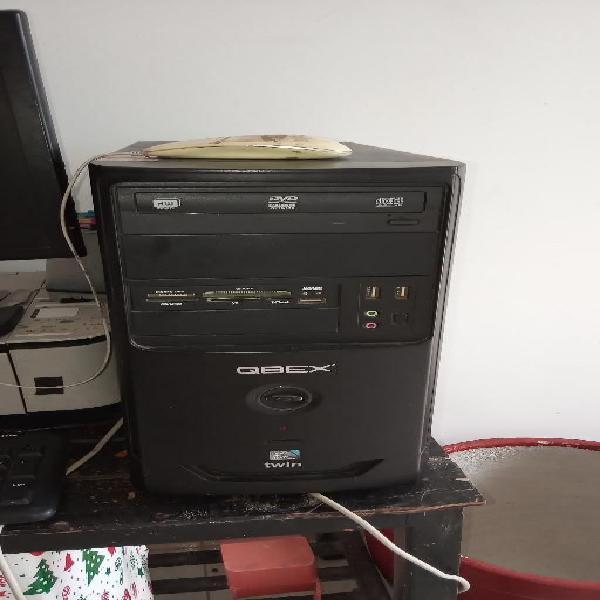 Computador qbex. información por inbox