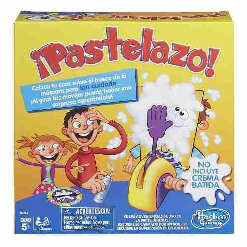 Juego de pastelazo hasbro original + envío