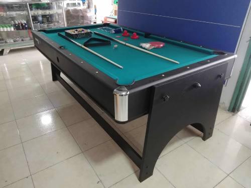 Mesa Multijuegos 4 En 1 Hockey,ping Pong,billar,comedor