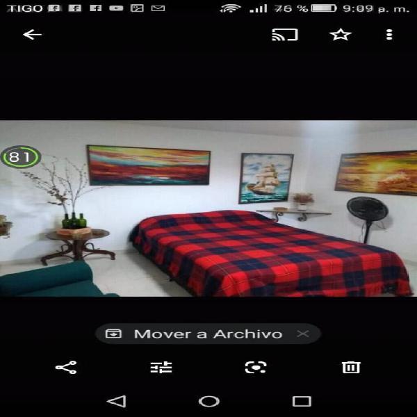 Alquiler apartaestudios barrio capri