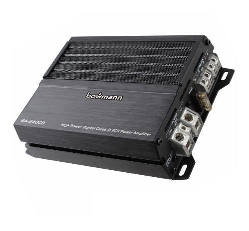 Amplificador para carro 2 canales planta clase d bowmann