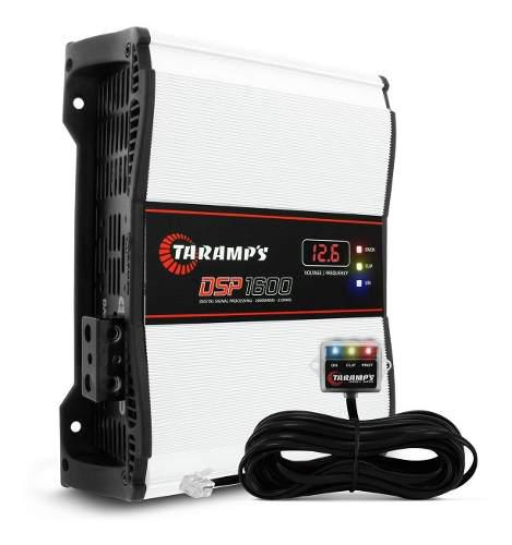 Amplificador planta taramps dsp-1600 1600w 1ohm
