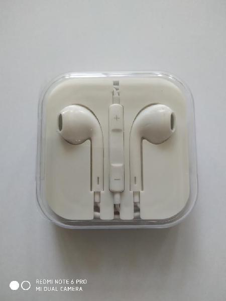 Audífonos genericos tipo apple jack 3,5m