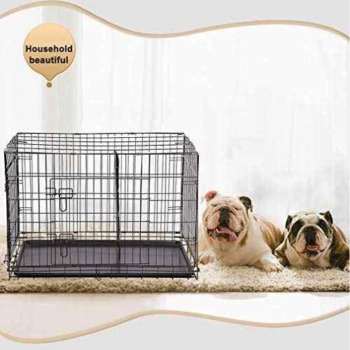 Bestpet 30 jaula para mascotas de alambre plegable grande