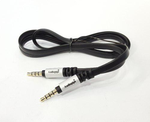 Cable Auxiliar Audio Estéreo 3.5mm Plug A Plug Audiopipe