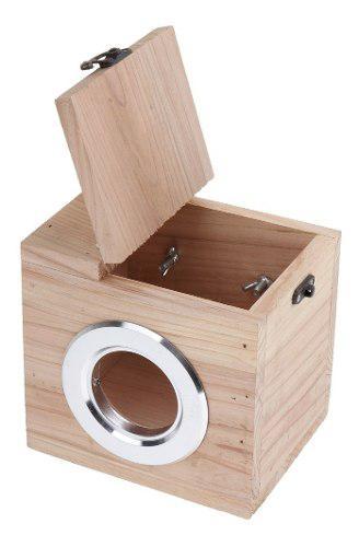 Casa de hámster madera para mascotas accesorios colocar