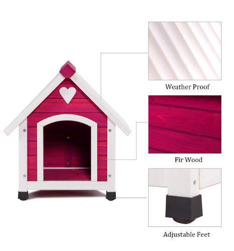 Casa en madera para mascotas grandes - importada