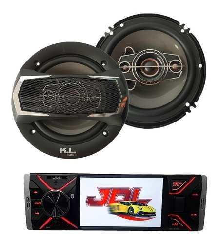 Combo Radio Para Carro Pantalla 4 + Parlantes Kl Audio 6