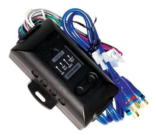 Convertidor de impedancia alta- baja 4 canales audiopipe