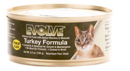 Evolve Cat Lata Turkey Pavo 5.5 Oz