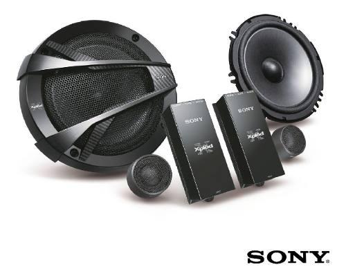 Parlante Componentes Carro 16cm, 350w Sony Xs-xb1621c