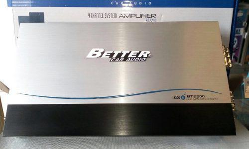 Planta better 2200 vatios amplificador sonido