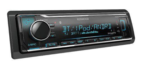 Radio carro bluetooth, usb, kenwood kmm-bt322u