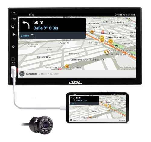 Radio Carro Camara Gratis Tactil 7'' Mirror Link Modelo 9318