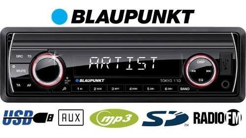 Radio carro radio fm blaupunkt tokyo 110 control usb y sd