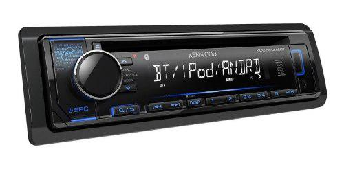 Radio para carro kenwood kdc-mp372bt usb bluetooth cd