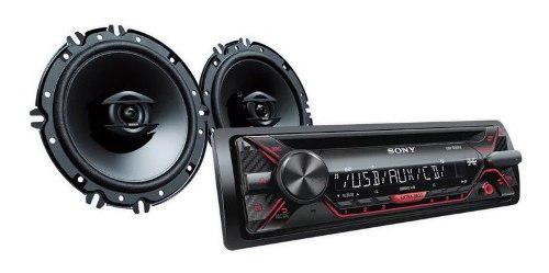 Radio receptor de cd con parlantes de 16 cm sony cxs-g11716u