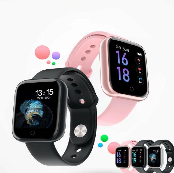 Reloj inteligente t80 moda deportiva ritmo cardíaco cc
