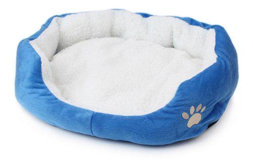 Suave caliente lavable para mascotas, perro gato cama cojín