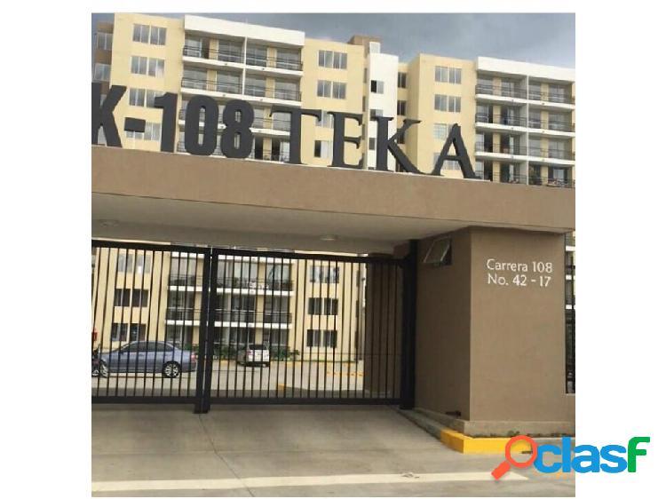 Apartamento en venta bochalema k108 teka