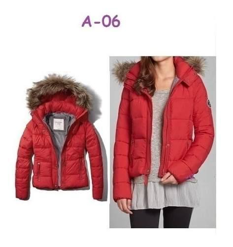 Chaqueta abercrombie impermeable para mujer en plumón