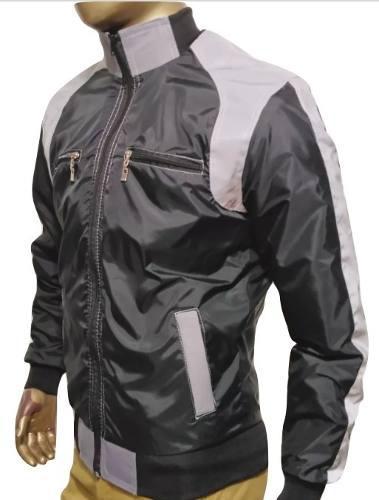 Chaqueta moto rompevientos reflectiva abaddon jackets