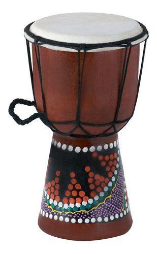 Djembe Tribal Style Drum Tom-tom Artesanía Decoración De