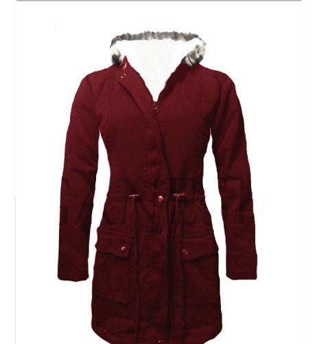 Gabán chaqueta elegante para mujer forrado ganesh alaska