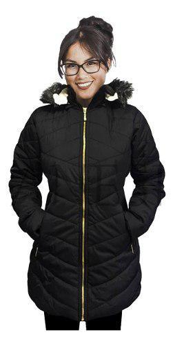 Gabán chaqueta ovejero invierno mujer canada ganesh