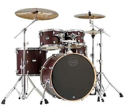 Mapex Ma529sfrw Mars Series 5 Piezas Rock Drum Shell Pack,