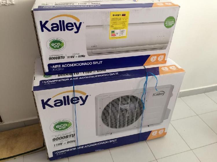 Oportunidad aire acondicionado nuevo 9000 btu marca kalley