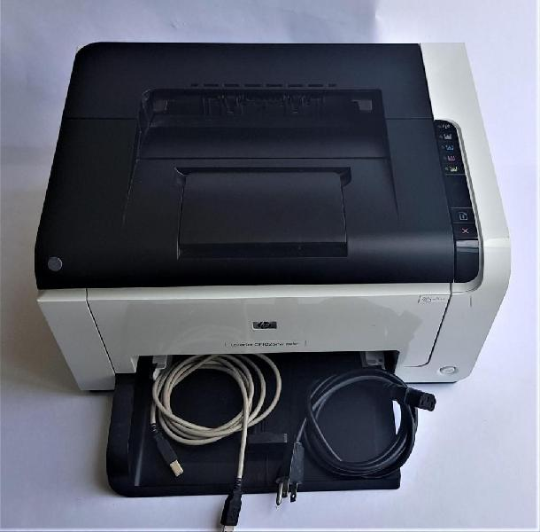 Impresora hp laserjet cp1025nw color