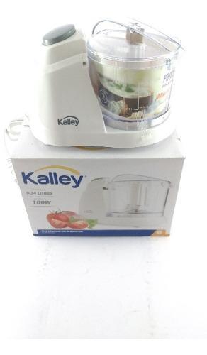Picatodo Procesador Alimentos Kalley 1.5 Tazas De 100 Watts