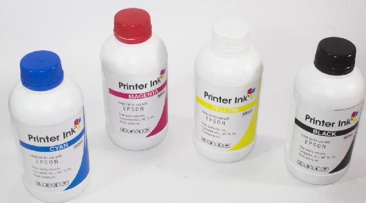 Tinta epson medio litro l200 l210 l220 l280 l355 l l455 l555