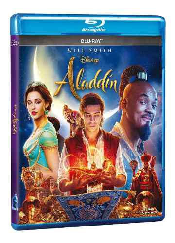 Blu ray aladdín live action