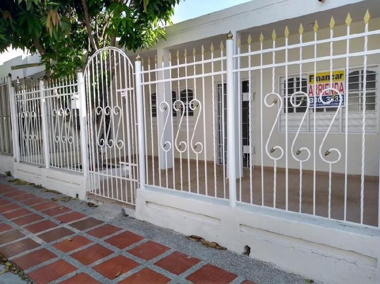 Casa en arriendo en barranquilla cevillar cod. abfnc-9518