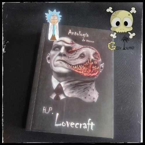 H.p Lovecraft Antología De Terror, Libro Ilustrado