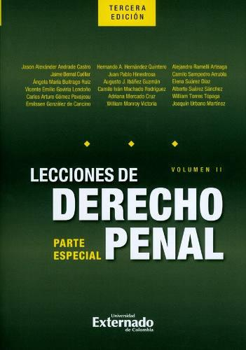 Lecciones de derecho penal: parte especial. volumen ii. 3ª
