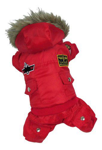 Ropa de perro vestido de iinvierno accesorios mascotas