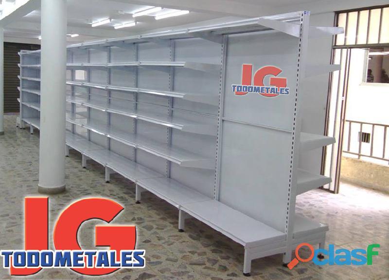 Puntos De Pago, Estantería pesada, Góndolas Para Supermercados 5