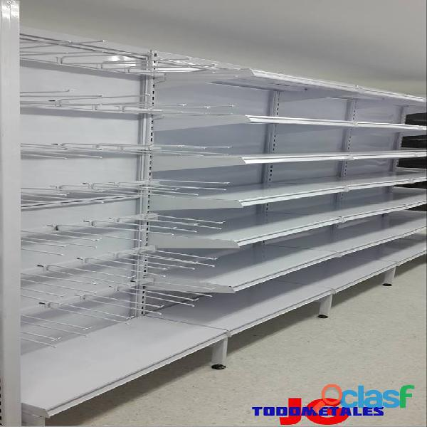 Puntos De Pago, Estantería pesada, Góndolas Para Supermercados 7