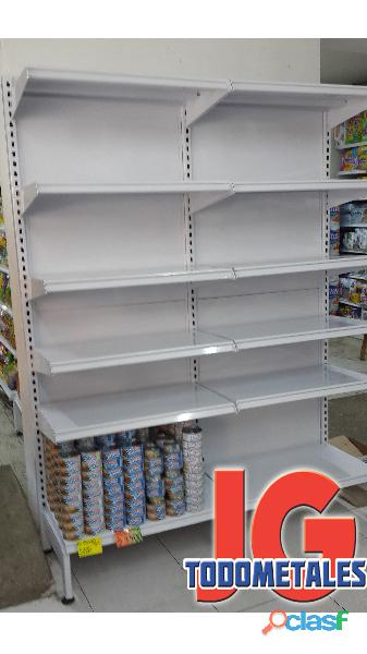 Puntos De Pago, Estantería pesada, Góndolas Para Supermercados 8
