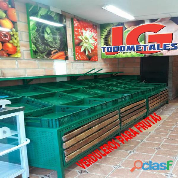 Puntos De Pago, Estantería pesada, Góndolas Para Supermercados 4