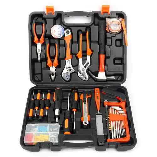 Kits de herramientas para el hogar de 100 piezas juego...