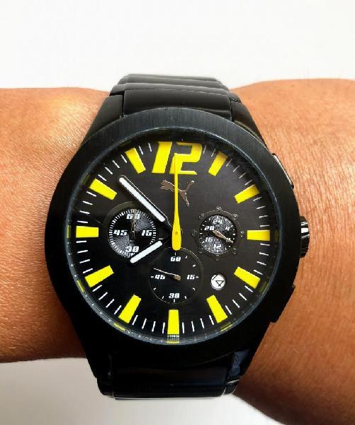 Reloj puma cronografos excelentes condiciones 100% original