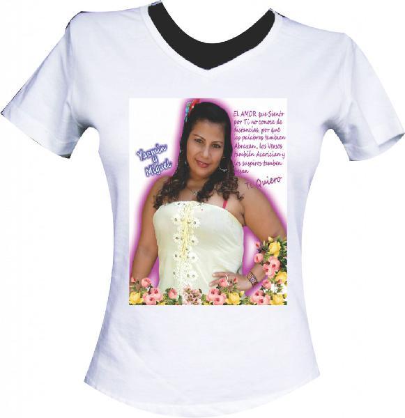 Camiseta estampada 25.000, 3 x 60.000 blancas gorra a 12.000
