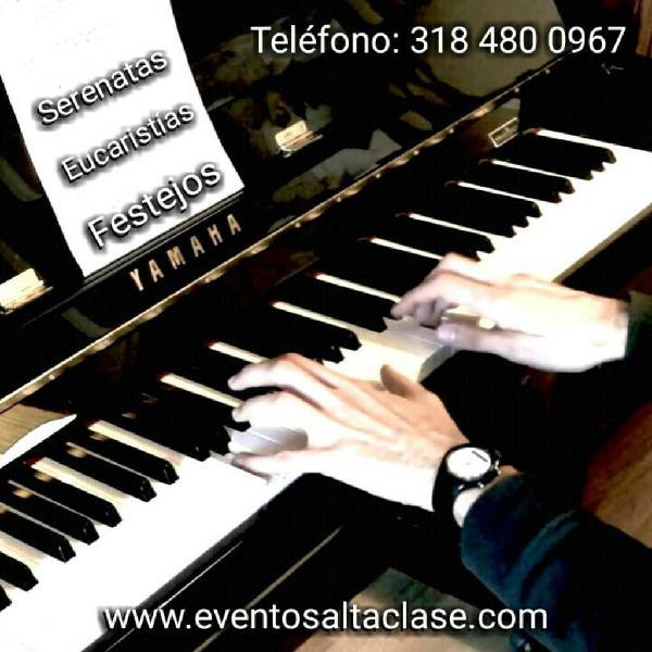 Grupo musical serenatas piano musico orquesta miniteca