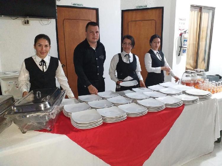 Te ofrecemos servicio buffet en la ciudad villavicencio y