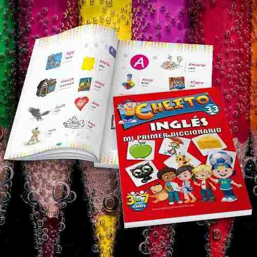 Cartillas Infantiles Cheito Inglés Mi Primer Diccionario