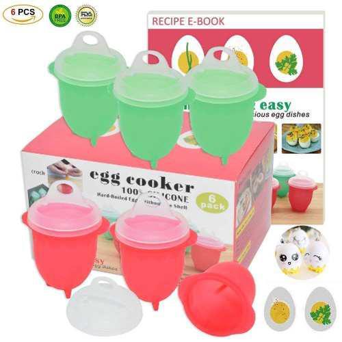 Máquina de cocción de huevos con microondas para cocinar